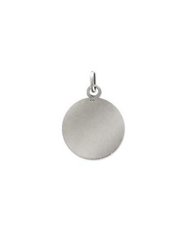 Médaille en argent à personnaliser ø 20 mm