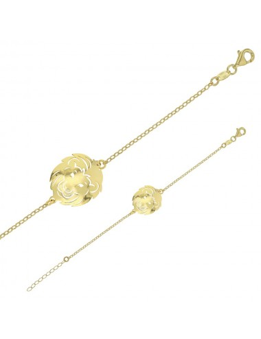 Bracelet Lion Argent 925/1000