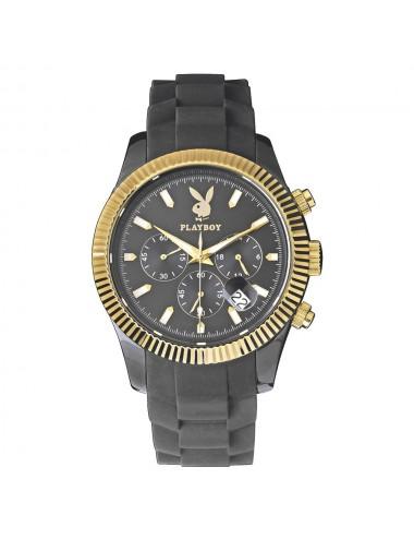 Montre boîtier et bracelet plastique marron clair grand modèle