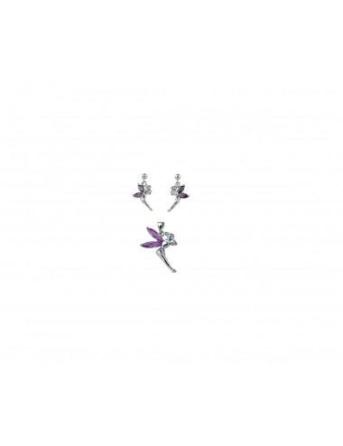 Bracelet Acier/synthétique 25cm