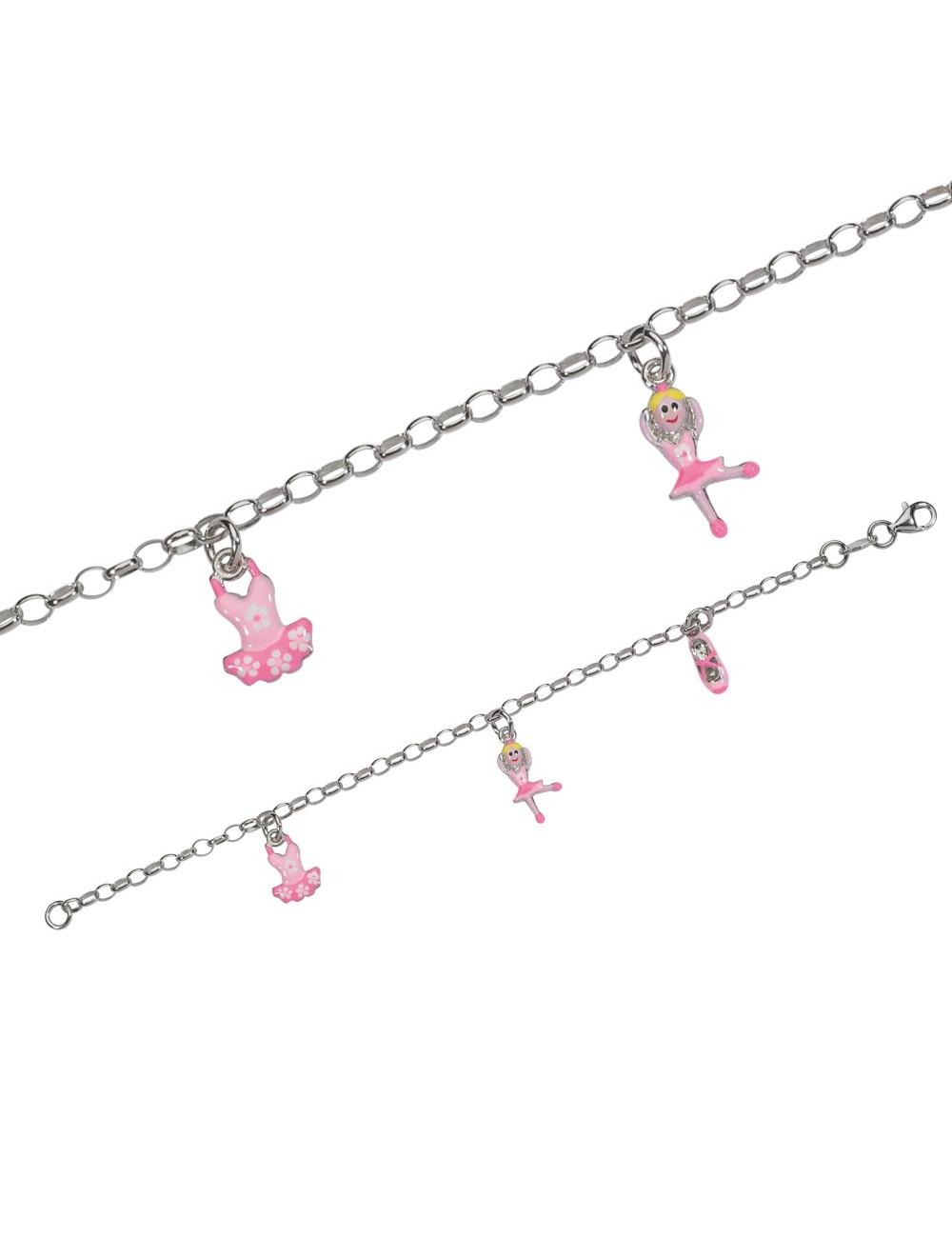 bracelet avec des ballerines