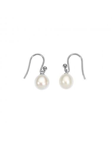 Boucles d'oreilles perle d'eau douce