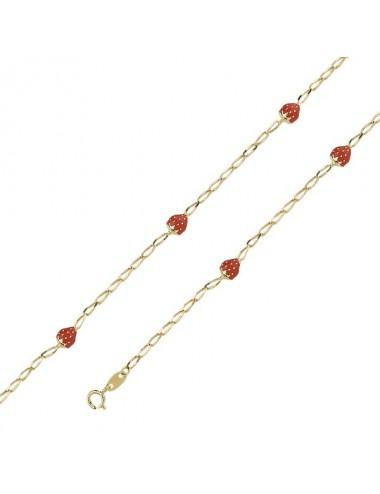 bracelet fraise email