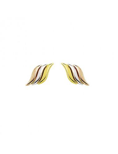 boucle d'oreille tricolore