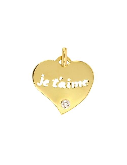 Bracelet Céramique blanche coeur Argent 925/1000 rhodié 19 cm
