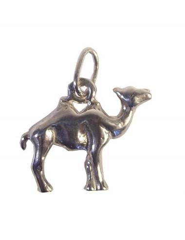 Pendentif chameau artisanale en argent
