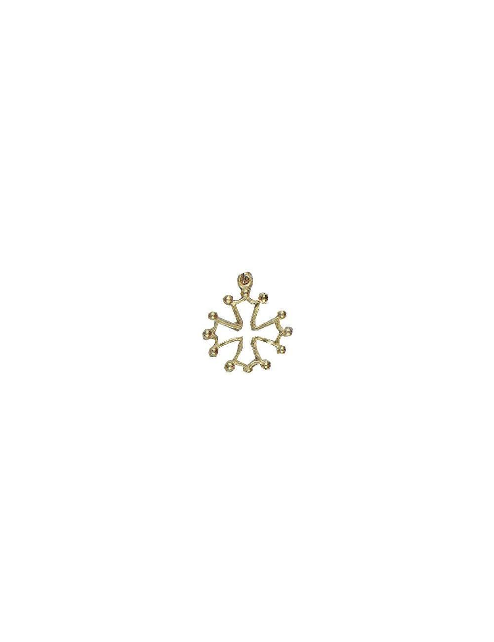 pendentif croix du Languedoc