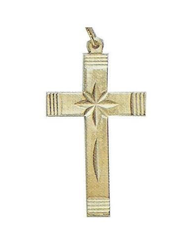 Pendentif croix étoilée