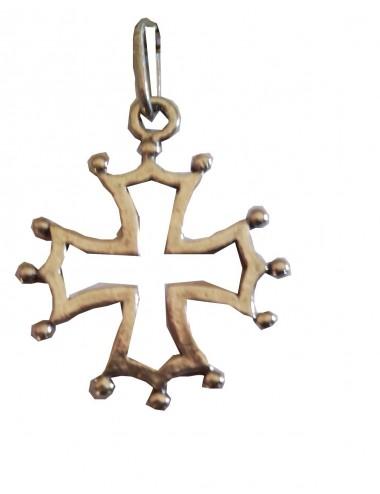 pendentif grande croix occitane