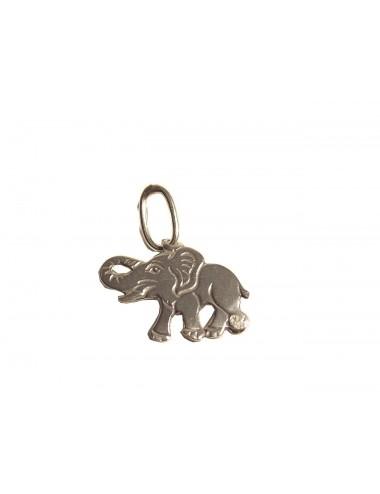 pendentif éléphant argent