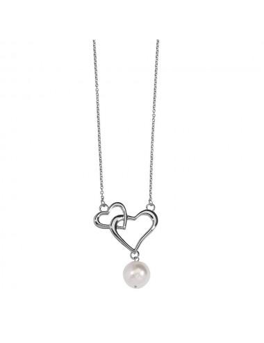 pendentif cœur et perle