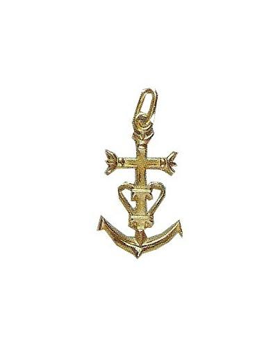 pendentif petite croix camarguaise