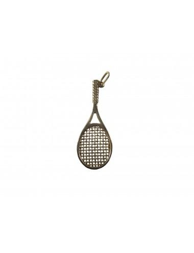 pendentif raquette de tennis